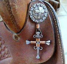 Clickin' Cowgirls Catalog: Horseshoe Nail Jewelry