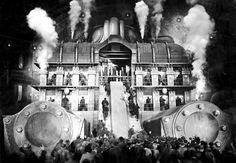 """Film still from """"Metropolis"""" by Fritz Lang Metropolis Film, Metropolis Fritz Lang, Fritz Lang Film, Chef D Oeuvre, Sci Fi Movies, Silent Film, Film Stills, Dieselpunk, Toulouse"""