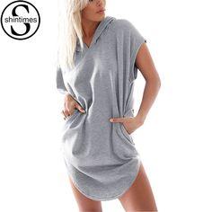 Camisas Femininas 2016 Mode À Capuchon T-Shirt Femmes À Manches Courtes Femmes Tops Vetement Femme T-shirt Plus La Taille Poleras De Mujer