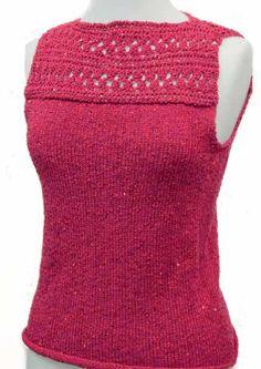 Summer Top - Free Knitting Pattern