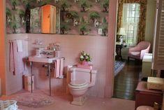 "vignette design: Tuesday Inspiration: Set Design from ""The Help"" Peach Bathroom, Small Bathroom, Bathroom Ideas, Ikea Bathroom, Bathroom Images, Bathroom Inspo, Bathroom Signs, Bathroom Colors, Design Set"