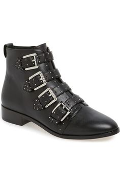 Rebecca Minkoff 'Maddox' Buckle Bootie (Women) available at #Nordstrom