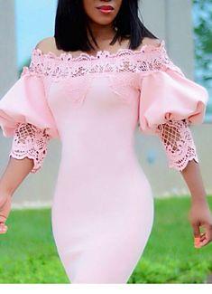 Short African Dresses, Latest African Fashion Dresses, Short Dresses, Classy Dress, Classy Outfits, Lace Dress Styles, Elegant Dresses, Bodycon Dress, Lace Insert