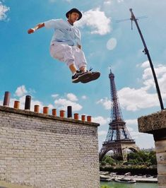 Rooftop precision in Paris by Benj Cave of STORROR® via @onreact
