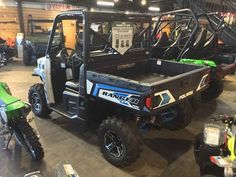 New 2017 Polaris RANGER XP 1000 EPS White Lightning ATVs For Sale in South Carolina. 2017 Polaris RANGER XP 1000 EPS White Lightning, BRAND NEW! The ALL NEW RANGER 1000! Financing Available!! Apply online today!! 2017 Polaris® RANGER XP® 1000 EPS White Lighning Features may include: World s Most Powerful UTV with 80 HP Adjustable Smooth Riding Suspension and Class Exclusive Throttle Control Modes Industry Exclusive Pro-Fit Cab Integration and Hundreds of Accessories HARDEST WORKING…
