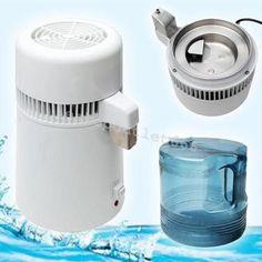 4L Stainless Steel Internal Pure Water Distiller Water Filter Distilled
