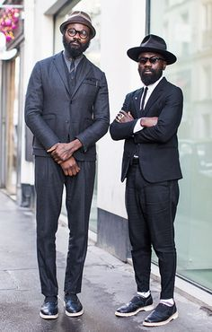 Sam & Shaka, Photographed in Paris Photo By: Jonathan Daniel Pryce For Garconjon  #Fashion #MensStyle #Menswear