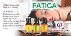 Fatiga aceites esenciales
