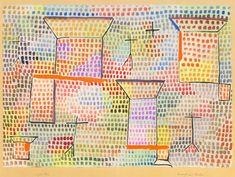 /kunstwerke/500px/Paul Klee - Crosses and columns (Kreuze und Sulen) 1931 (wc on paper ca - (MeisterDrucke-255762).jpg