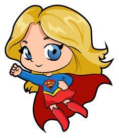 Chibi Superhero, Chibi Superman, Chibi Marvel, Superman Art, Dc Comics Girls, Marvel Dc Comics, Supergirl Drawing, Avengers Cartoon, Fabric Painting