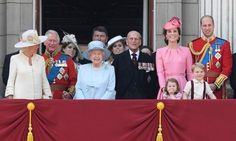 Security was tight around Buckingham Palace and the Mall as the final preparations for the annual celebration of the Queen's official birthday started this morning.