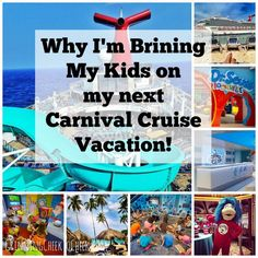 What to do with Kids on a Cruise - Why I'm Bringing my Kids on my Next Carnival Cruise Vacation! #CarnivalFreedom #SeussatSea