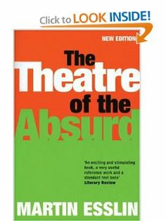 The Theatre Of The Absurd (Plays and Playwrights) by Martin Esslin. $16.47. Publisher: Bloomsbury Methuen Drama (April 19, 2001). Author: Martin Esslin. Publication: April 19, 2001