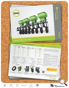 Fotos, criação e impressão de catálago A4 em couche 150g fosco para Inroda Máquinas Agrícolas | Catálago FALCÃO - Aplicador de fertilizantes com disco duplo #valim #catalago #falcao #fertilizante #adubador #agricultura #brasil #avare #plantiodireto