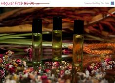 CYBER MONDAY SALE Come Hither Aromatherapy in a by lebotanicals, $1.75