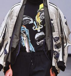 patternprints journal: PRINTS, PATTERNS AND TEXTILE SURFACES FROM LONDON CATWALKS (MENSWEAR F/W 2015/16) / Agi & Sam