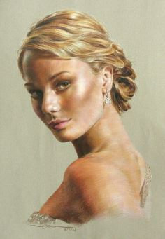 Unbelievable colored pencil drawing.