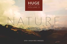 Nature background and images for a blog! Check out Huge Nature Photo Set. 250+ images! by AroundSeven_NL on Creative Market, $10