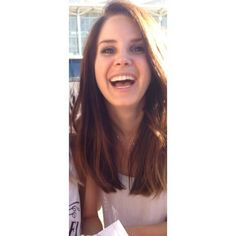 She laughs like god #MTVStars Lana Del Rey