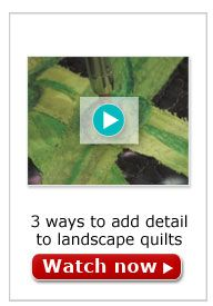 Art Quilts Video - covering many topics. Quilting Tips, Quilting Tutorials, Machine Quilting, Quilting Projects, Quilting Designs, Art Quilting, Quilt Art, Quilt Stitching, Applique Quilts