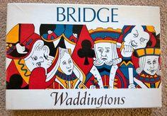VINTAGE WADDINGTONS BRIDGE SET 1960 S BOXED