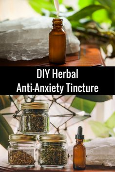How to Make an Herbal Anti-Anxiety Tincture at Home + tips for using cannabis