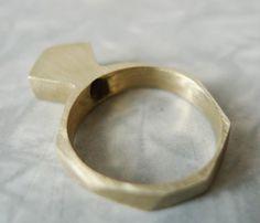 Bronze Bling Ring - Uncovet