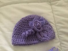 Warmer Set    Hat with matching Wrist Mitts by 374threads on Etsy
