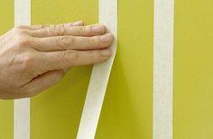 Come dipingere pareti a righe verticali e orizzontali