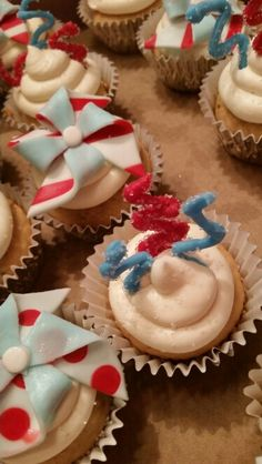 4th of July Cupcakes!