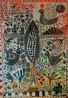 ΣΟΦΙΑ ΔΑΤΣΕΡΗ, alarm clock Alarm Clock, Textile Art, Folk, Greek, Textiles, Embroidery, Google, Painting, Projection Alarm Clock
