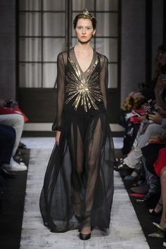 Schiaparelli Runway Fashion from Couture Week 2015 - Best of Couture Week 2015