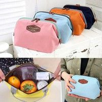 Wish |  Big Sale Portable Insulated Thermal Lunch Carry  fahion compact Tote Storage Travel Picnic Bag