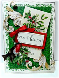 Anna Griffin Christmas 2014 Holiday Traditions card making kit