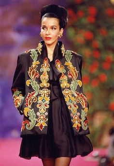 Christian Lacroix Haute Couture Fall-Winter 1990 | Christian Lacroix | Flickr