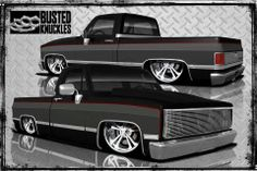 (1) Busted Knuckles Design And Fabrication, I would love a rendering of my truck sporting the paint scheme I'm wanting