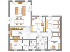 Die 75 besten Bilder von Bungalow Grundriss   Home plants, House ...