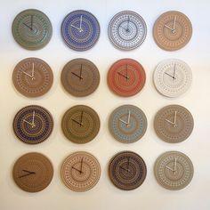 Ornament clocks galore!