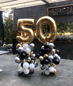 50th Birthday Party Ideas For Men, Birthday Party Decorations For Adults, Moms 50th Birthday, 30th Birthday Parties, Parties Decorations, 50th Party, Birthday Cakes, 40th Birthday Balloons, Men Cake