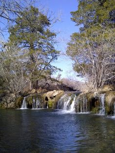 images of Tishamingo , Ok | Blue River in Tishomingo,Oklahoma