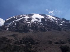 Kilimanjaro from Barranco Huts