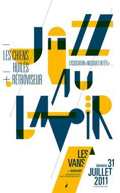 Affiche Jazz au Lavoir / Heureux les cailloux