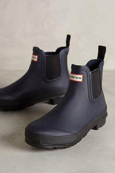 Hunter Original Two Tone Chelsea Boots