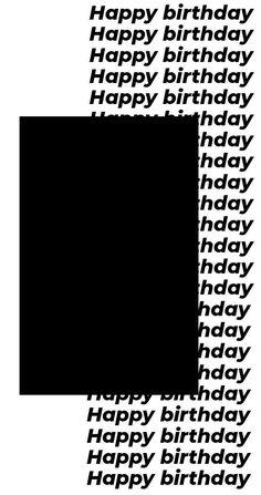 Creative Instagram Photo Ideas, Instagram Photo Editing, Instagram Story Ideas, Instagram Quotes, Birthday Captions Instagram, Birthday Post Instagram, Foto Magazine, Happy Birthday Template, Happy Birthday Posters