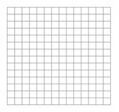 More Printable Graph Paper For Cross Stitch This One Has Less