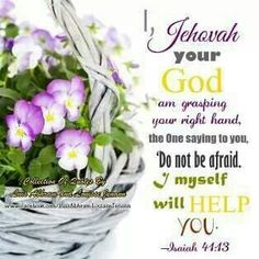 The God who reaches out and takes our hand in times of distress, and calms us, who answers our prayers, who guides us and helps us find his Truths, this God is Jehovah, the Almighty God.