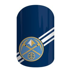 Denver Nuggets | Jamberry  Get courtside style with the NBA Collection by Jamberry. Our officially licensed NBA products feature your favorite team logo and colors, so your mani is sure to be a slam dunk with 'Denver Nuggets'.