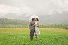 gorgeous umbrella shot | Leah Bullard #wedding