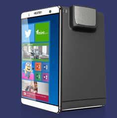 holofone phablet dual boot android and windows with projector
