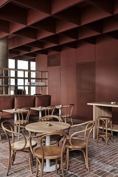 Wall Colours only - Australian Interior Design Awards Italian Interior Design, Australian Interior Design, Cafe Interior Design, Interior Design Awards, Cafe Design, Modern Restaurant, Restaurant Design, Commercial Design, Commercial Interiors